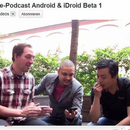Android &amp&#x3B; iDroid: Neuer Podcast von androidnews.de
