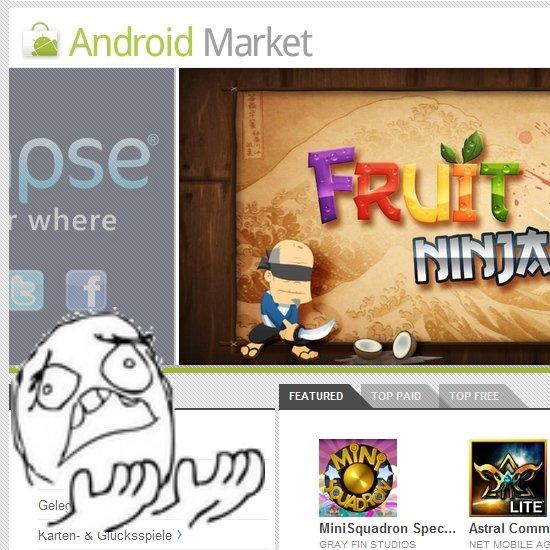 Android Market: 15 Features, die wir uns wünschen