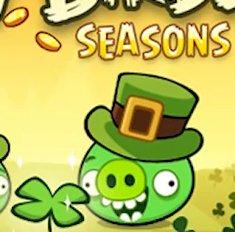 Angry Birds Seasons: St. Patrick's Day-Update ist da