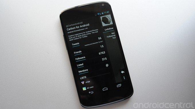 Carbon für Android: Video-Preview des verschollen geglaubten Twitter-Clients