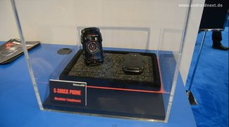 Casio G-Shock-Phone und G'zOne: Outdoor-Smartphones vom Uhrenhersteller [CES 2012]
