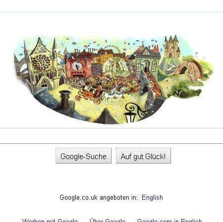 Royale Hochzeit jetzt auch als Google Doodle