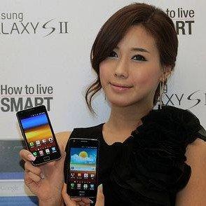 Samsung Galaxy S II schlägt iPhone 4 auch im Vorverkauf