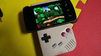 Galaxy Nexus: Controller aus Game Boy und Wiimote als Fan-Mod
