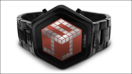 3D-Uhr aus Japan - Schräges Gadget von Tokyoflash