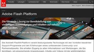 Adobe Flash Player 11 und Air 3 - Mit 3D und iOS Unterstützung auf 1 Milliarde Geräte