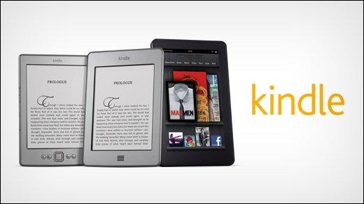 Amazon Kindle - eBook-Reader Kindle Touch und Tablet Kindle Fire vorgestellt