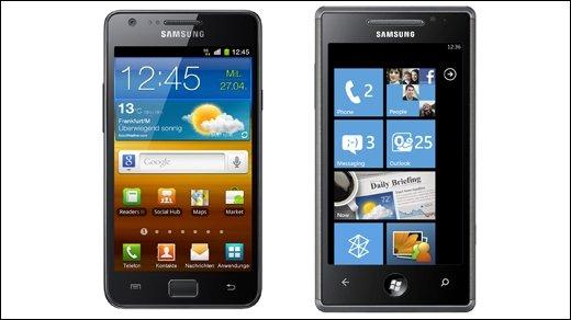 Android &amp&#x3B; Windows Phone - Microsoft und Samsung geben Patent-Abkommen bekannt