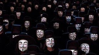 Anonymous - GEMA-Website lahmgelegt