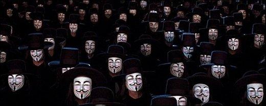 Anonymous - Spanische Polizei verhaftet drei Mitglieder der Hackergruppe