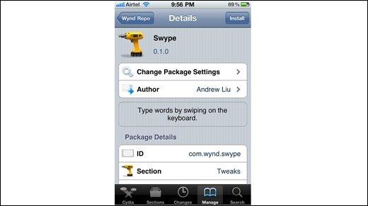 Apple - iPhone erhält Swype, aber nur mit Jailbreak