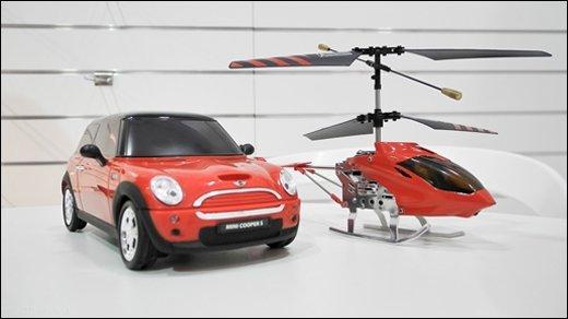 BeeWi - Ferngesteuerter Hubschrauber und Auto für iOS und Android