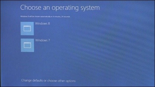 Boot-Sequenz - Schöner Starten mit Windows 8