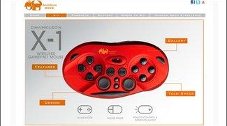 Chameleon X-1 - Gamepad-Maus im Assassin´s Creed-Style