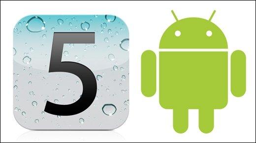 Die Zurückgebliebenen - Smartphones: Grafische Darstellung von Android und iOS-Support
