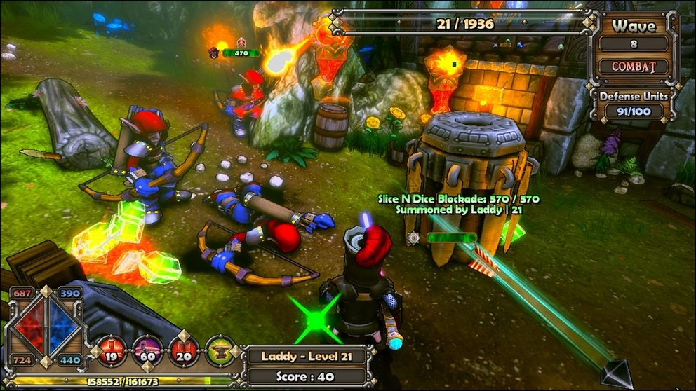 Dungeon Defenders - Trendy Entertainment erreicht 600.000 Verkäufe