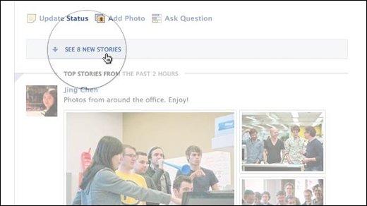 Facebook - Neues Design für den Neuigkeiten-Feed
