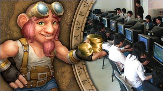 Gamer als Entwicklungshelfer - GIGAbites: Goldselling-Boom - Segen oder Fluch?