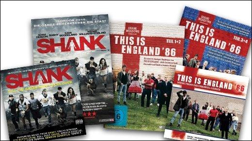 GIGA Adventskalender - 14. Dezember - zwei New Brit Cinema-Pakete mit DVDs, BDs &amp&#x3B; CDs