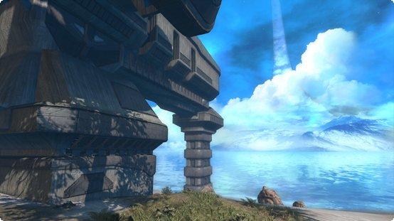 Halo: Combat Evolved Anniversary - Headlong Map aus Teil 2 ist mit dabei