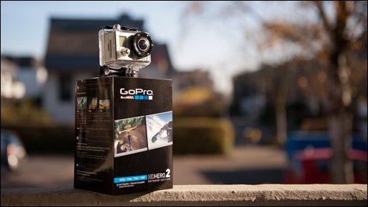 GoPro HD HERO2: Viel Kamera auf kleinem Raum