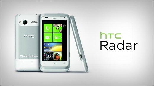 HTC Radar Test - Es muss nicht immer Android sein
