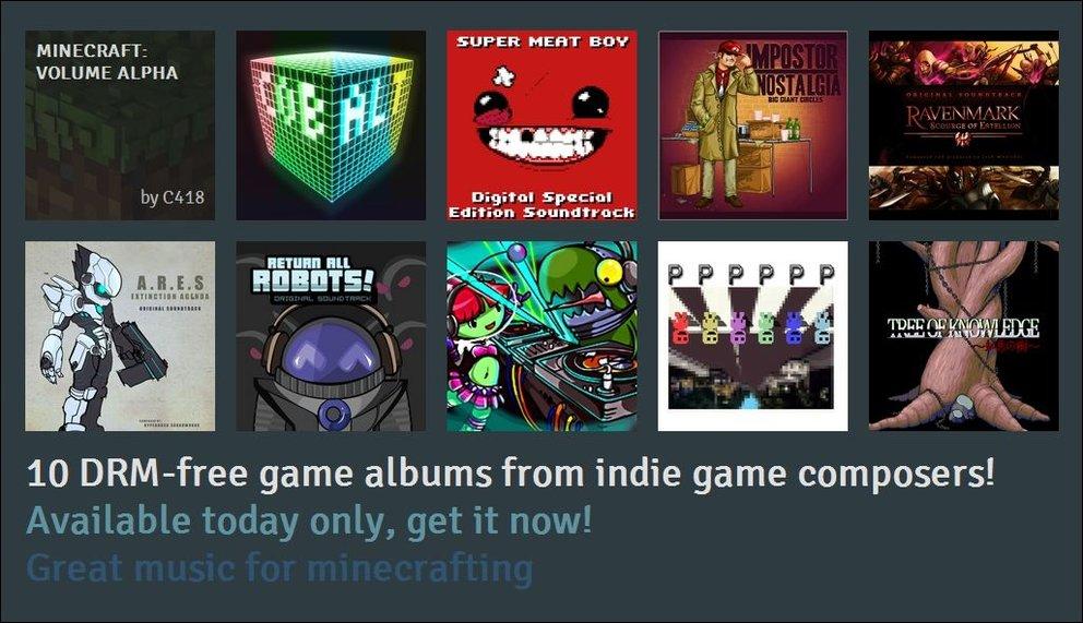 Indie Game Music Bundle - 10 Soundtracks für 1 Dollar