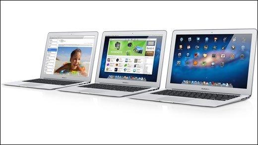 MacBook Air - Arbeitet Apple an weiteren MacBook Air-Modellen mit 15- und 17-Zoll-Displays?
