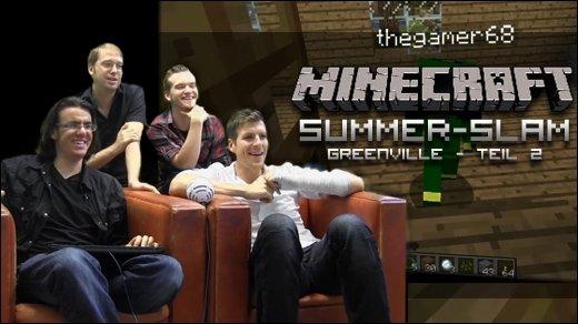 Minecraft Summer Slam - Greenville - Teil 2 unseres Rundgangs durch Greenville