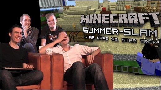 Minecraft Summer Slam - Luke vs. Picard - Teil 1: Star Wars vs. Star Trek: Wer gewinnt?