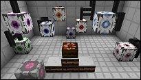 MineCraft trifft Portal 2