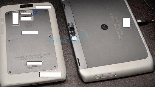 Motorola Xoom 2 - Fotos und Specs: Zwei Googorola Tablets heißen Fleming