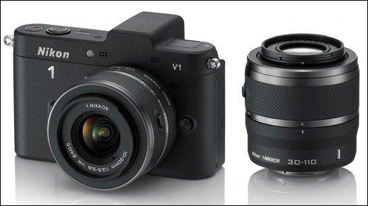 Nikon 1 V1 und Nikon 1 J1 sind Nikons neue Systemkameras