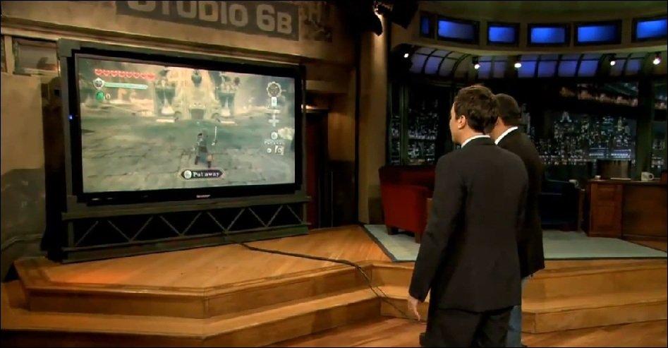 Nintendo - Zelda, Kid Icarus und die Wii U bei Jimmy Fallon