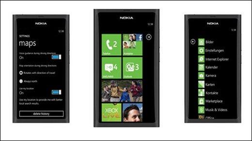 Nokia Windows Phone 7 - Sea Ray-Prototyp gesichtet