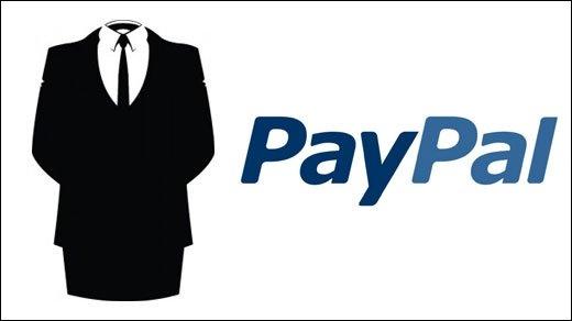 PayPal - Anonymous vs. PayPal: Löscht Eure PayPal-Konten
