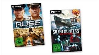 PC - RUSE und Silent Hunter 5 heute für 9,95 statt 19,99 Euro bei Gamesload