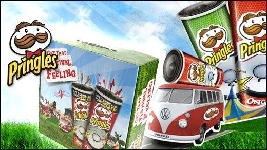Pringles Gewinnspiel - Gewinnt 10 x 2 Mini-Speaker!