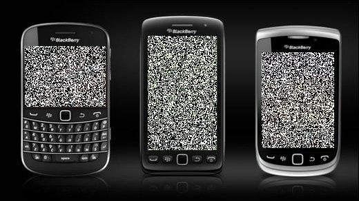 Research in Motion - BlackBerry-Benutzer seit Tagen offline