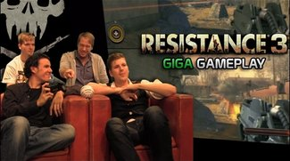 Resistance 3 Gameplay - GIGA Gameplay zum PS3-exklusiven Alien-Shooter