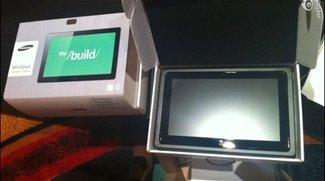 Samsung - Microsoft BUILD: Videos vom Windows 8 Tablet aufgetaucht