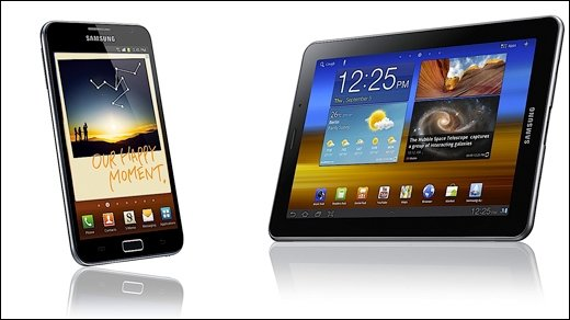 Samsung - Neues Galaxy Tab 7.7 und Galaxy Note mit 5,3-Zoll-Display