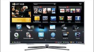 Smart TV - Video-Ankündigung von Samsung zur CES 2012