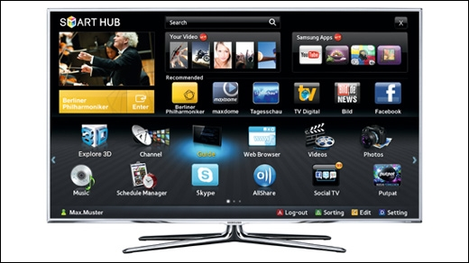 samsung smart tv mit internet verbinden anleitung giga. Black Bedroom Furniture Sets. Home Design Ideas