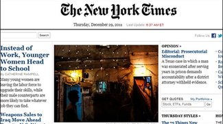 Spam-Mail - New York Times verschickt versehentlich acht Millionen Mails