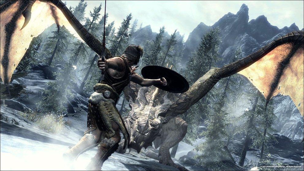 The Elder Scrolls V: Skyrim - DLCs kommen zuerst auf der Xbox 360