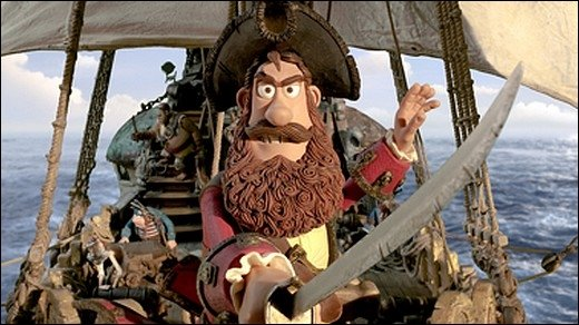 The Pirates! - Na endlich, ein toller Piratenfilm!