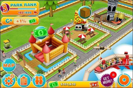 Theme Park - Freizeitparks bald auch auf iOS