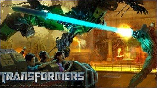 Transformers: The Ride - Ab dem 2. Dezember! Mit Explosionen!