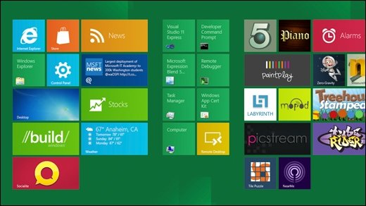 Windows 8 Consumer Preview am 29. Februar 2012